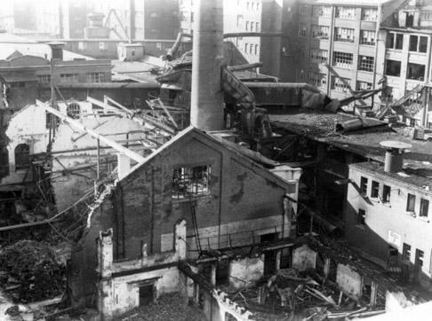 Salamander kontoris hävitati sõja ajal Kornvestheim